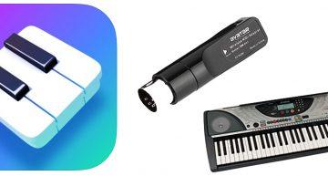 Connect (iPad) Simply Piano to a Digital Piano MIDI Port Wirelessly